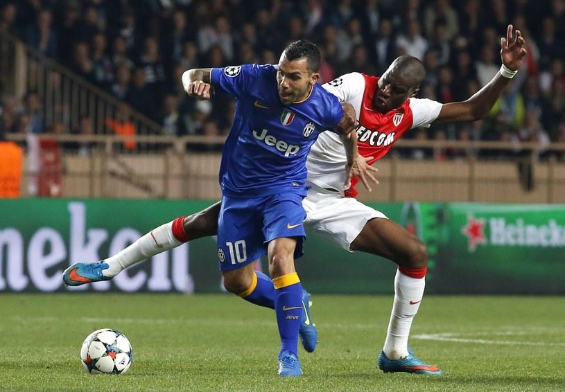 Carlos Tevez w meczu z Monaco /PAP/EPA