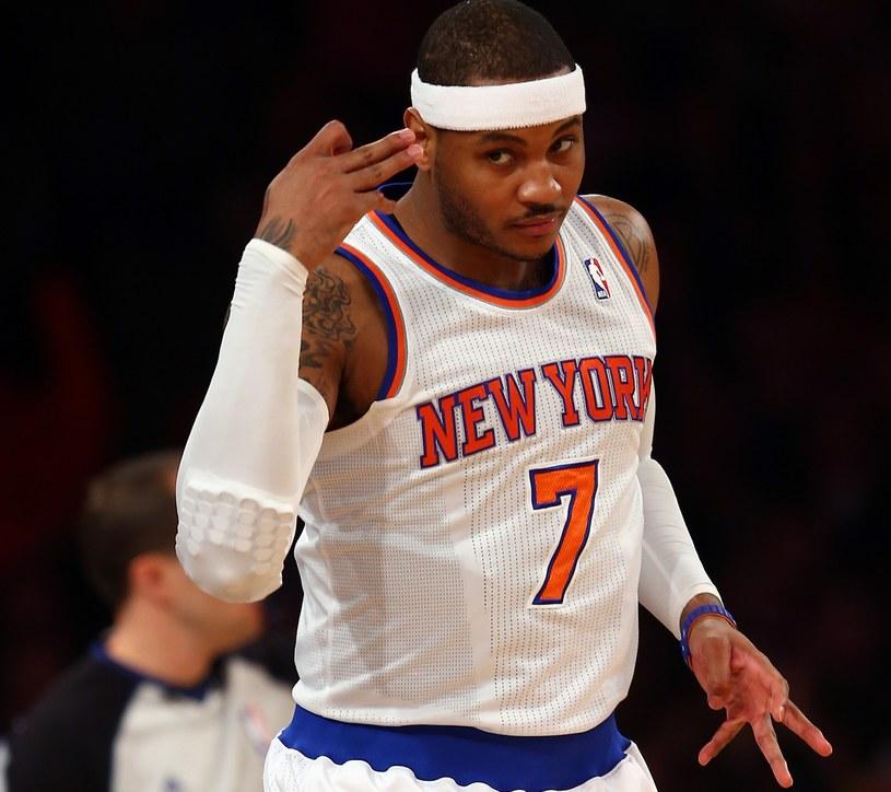 Carmelo Anthony z New York Knicks /Getty Images