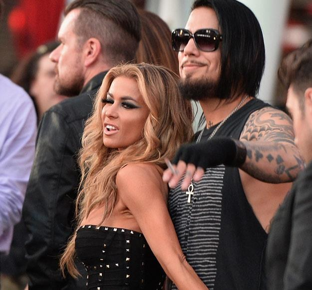 Carmen Electra i Dave Navarro znów razem (fot. Kevin Winter) /Getty Images