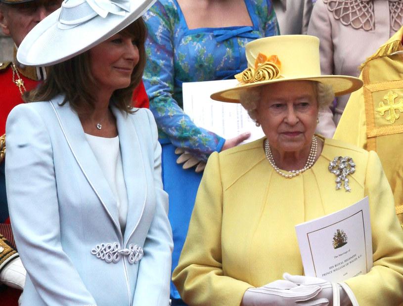 Carole Middleton i królowa Elżbieta /Chris Jackson /Getty Images