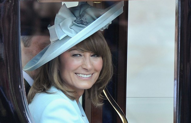 Carole Middleton /- /Getty Images