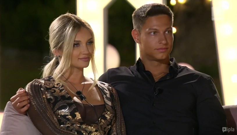 """Caroline i Mateusz w finale """"Love Island. Wyspa Miłości"""" /Polsat /Polsat"""