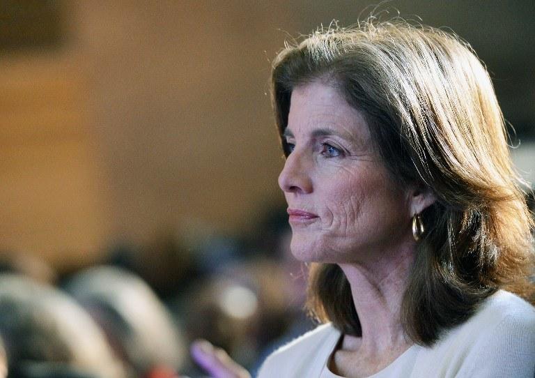 Caroline Kennedy /AFP