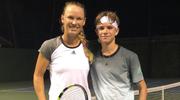Caroline Wozniacki dała lekcję tenisa synowi Davida Beckhama