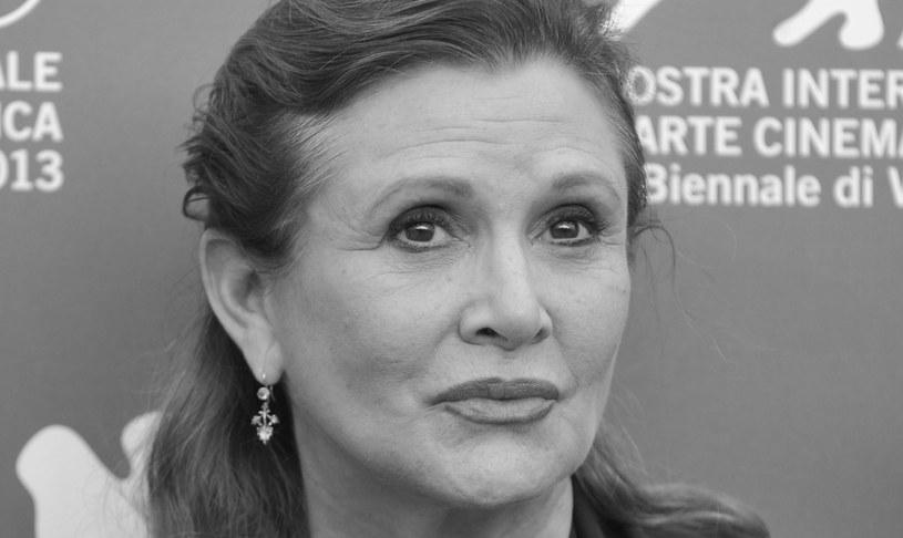 """Carrie Fisher - aktorka grająca rolę księżniczki Lei w serii """"Gwiezdne Wojny"""" /AFP"""