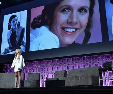 """Carrie Fisher pośmiertnie w nowych """"Gwiezdnych Wojen"""""""