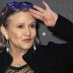 Carrie Fisher w szpitalu. Aktorka na pokładzie samolotu miała problemy z sercem
