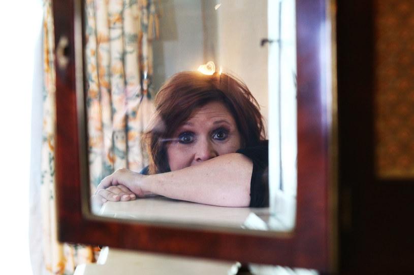"Carrie Fisher ""znad krawędzi"" /Brendon Thorne /Getty Images"