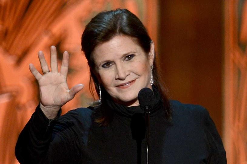 """Carrie Fisher znów pojawi się w """"Gwiednych wojnach"""" /Getty Images"""