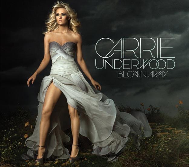 """Carrie Underwood na okładce albumu """"Blown Away"""" /"""