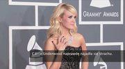 Carrie Underwood najadła się strachu