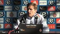 Carrillo o nieobecności Lloncha i Bartkowskiego w meczu z Legią. Wideo