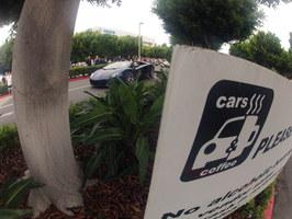 Cars and coffee. Newport Beach (USA)