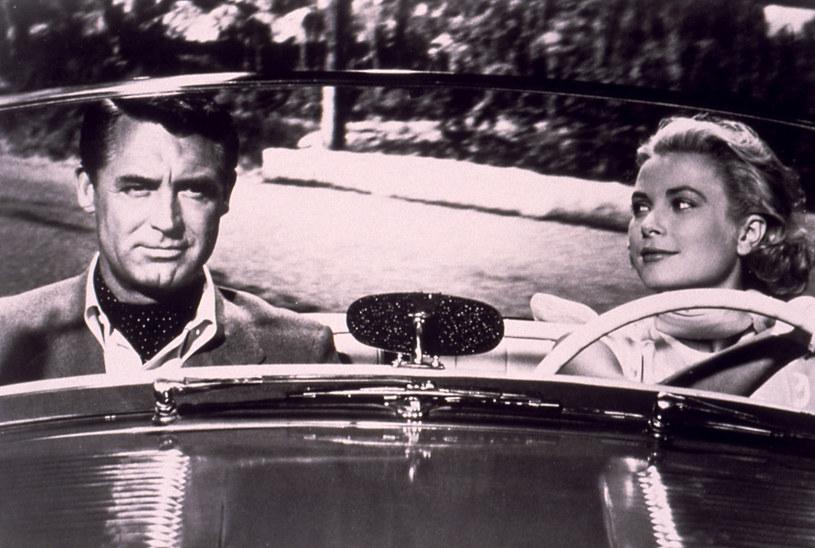 """Cary Grant i Grace Kelly w filmie """"Złodziej w hotelu"""" /AKPA"""