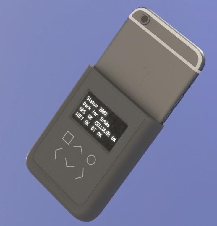 Case na iPhone'a zaprojektowany przez Edwarda Snowdena /Wired /Internet
