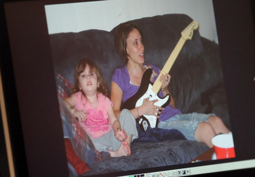 Casey Anthony z córką Caylee Anthony /Getty Images