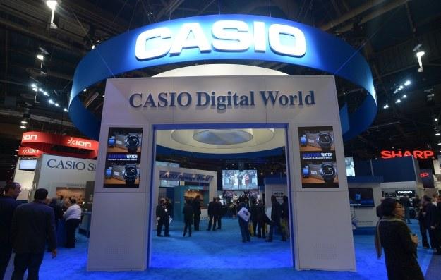 Casio jest zainteresowane smartwatchami /AFP