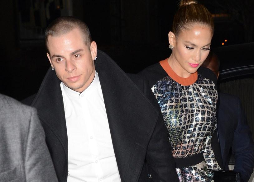 Casper Smart i Jennifer Lopez rozstali się w sierpniu /Jason Merritt /Getty Images
