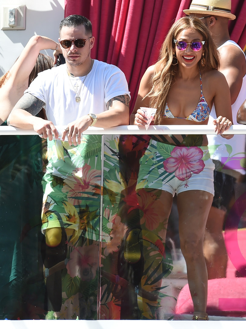 Casper Smart i Jennifer Lopez /Ethan Miller /Getty Images