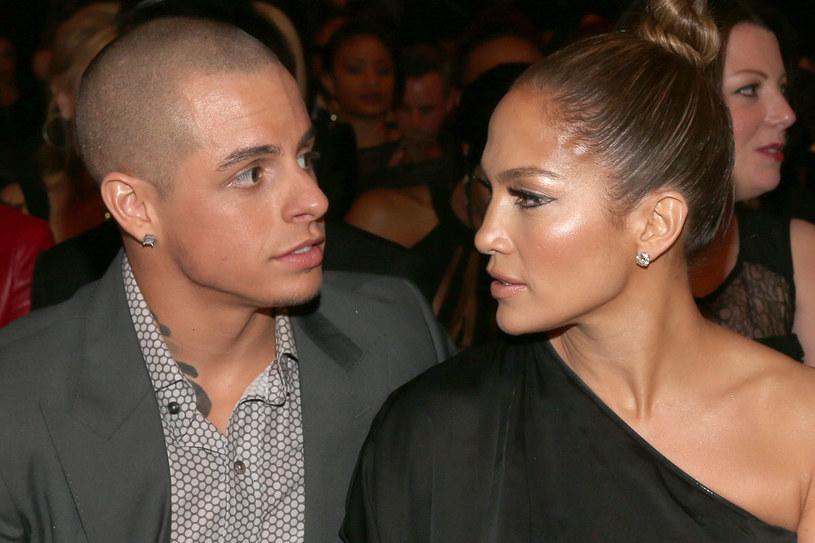 Casper Smart wciąż uchodzi za partnera Lopez. Ale nie okazują już sobie czułości... /Getty Images/Flash Press Media