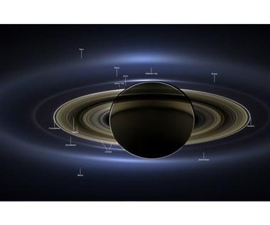 Cassini: Saturn, Ziemia, Wenus i Mars na jednym zdjęciu