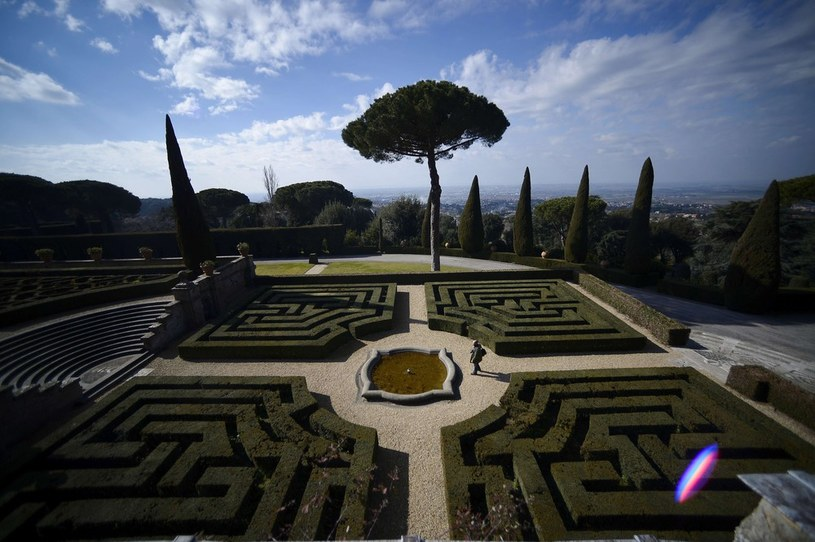 Castel Gandolfo /FILIPPO MONTEFORTE/AFP /East News
