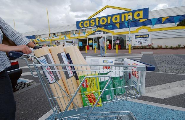 Castorama sprzedaje materiały budowlane, wykończenia wnętrz oraz sprzęt gospodarstwa domowego /AFP