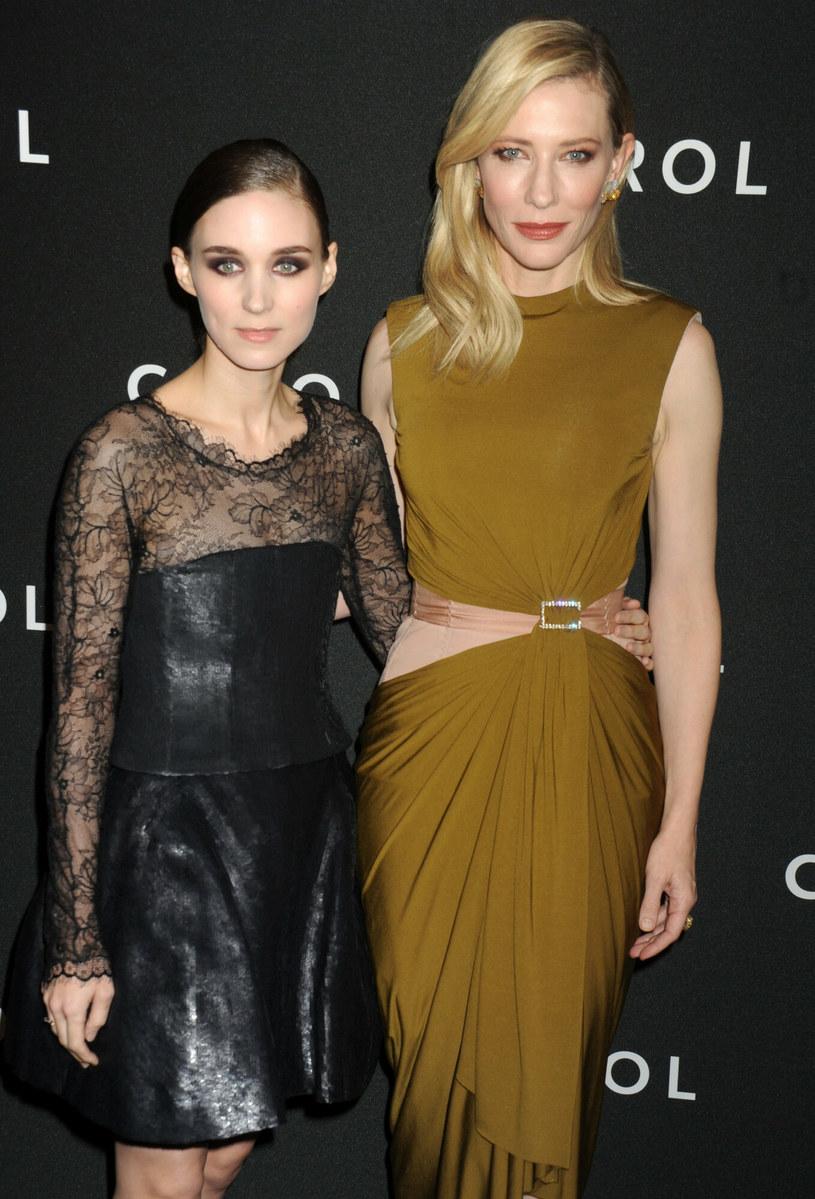"""Cate Blanchet i Rooney Mara na premierze filmu """"Carol"""" /LFI    /East News"""