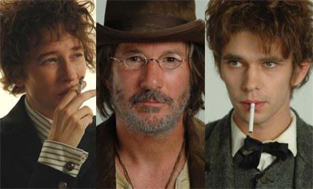 Cate Blanchett i Ben Whishaw jako inkarnacje Boba Dylana /materiały dystrybutora