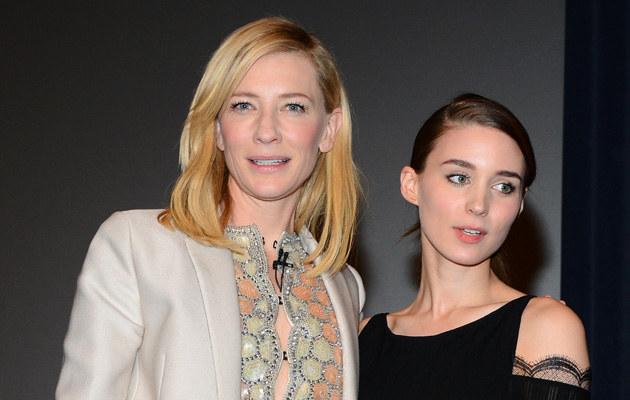 Cate Blanchett i Rooney Mara miały wypadek /Mark Davis /Getty Images