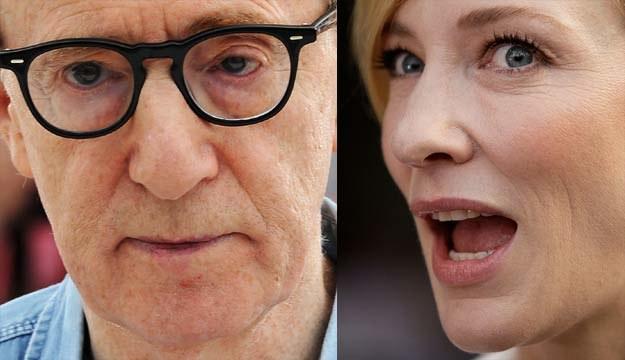 Cate Blanchett nie miała jeszcze okazji pracować z Woodym Allenem /Getty Images/Flash Press Media