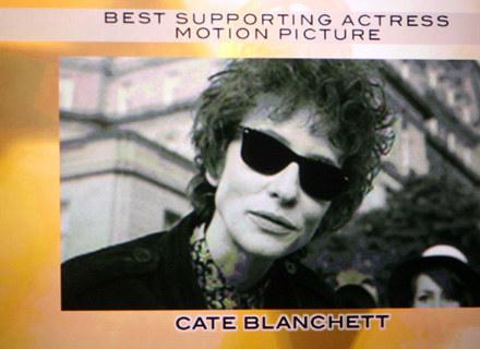"""Cate Blanchett otrzymała Złoty Glob za rolę w filmie """"I'm Not There"""" /AFP"""