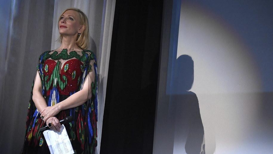 Cate Blanchett podczas ceremonii rozdania nagród /CLAUDIO ONORATI    /PAP/EPA