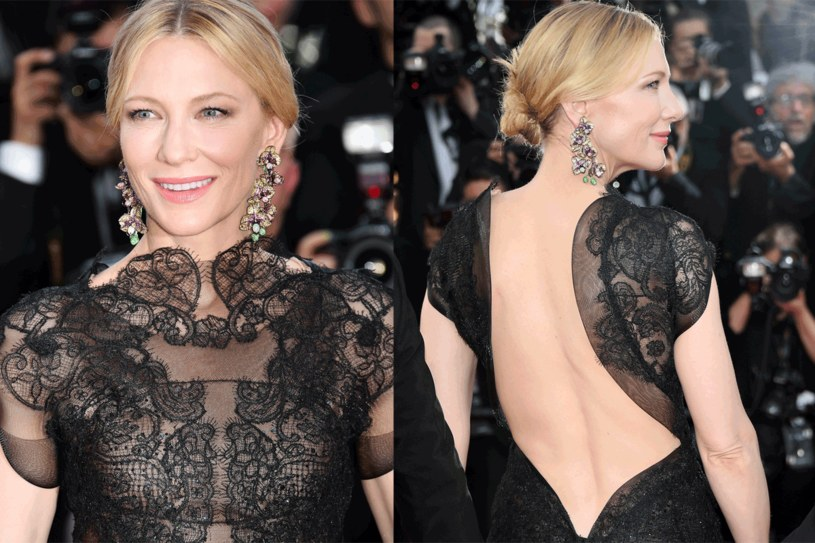 Cate Blanchett wyglądała olśniewająco i miała ważne przesłanie /Getty Images
