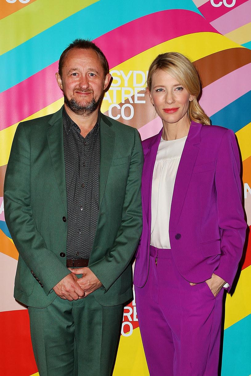 Cate Blanchett z mężem /Lisa Maree Williams /Getty Images