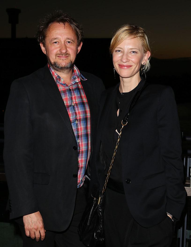 Cate Blanchett z mężem /Brendon Thorne /Getty Images