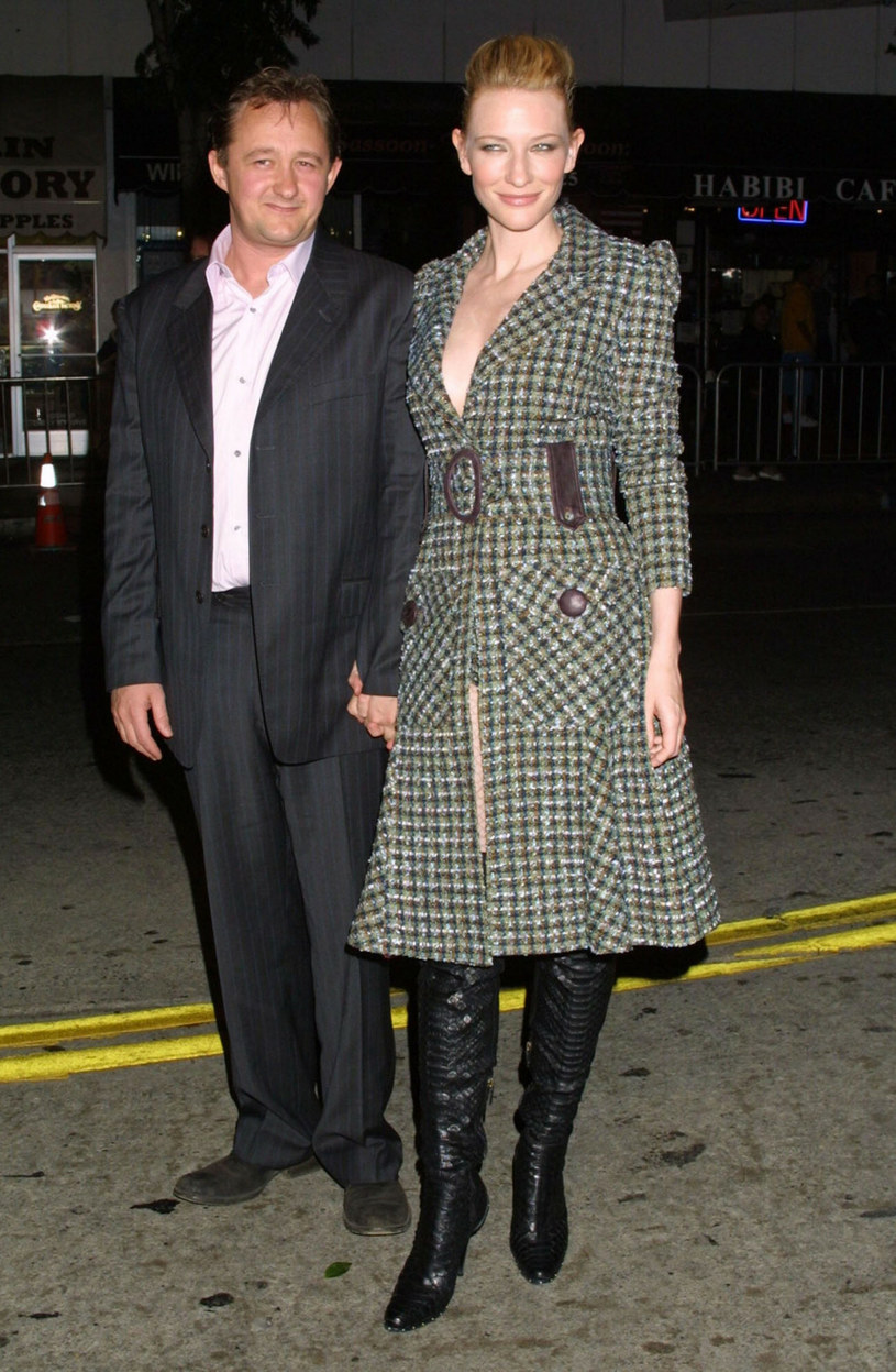 Cate Blanchett z mężem /Facebook /East News