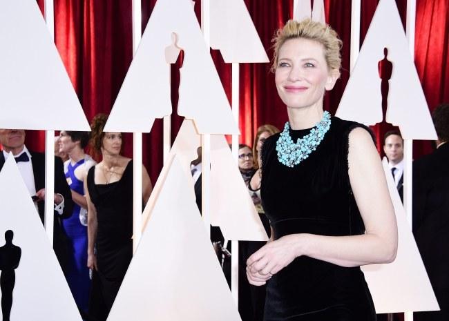 Cate Blanchett /PAP/EPA/PAUL BUCK /PAP/EPA
