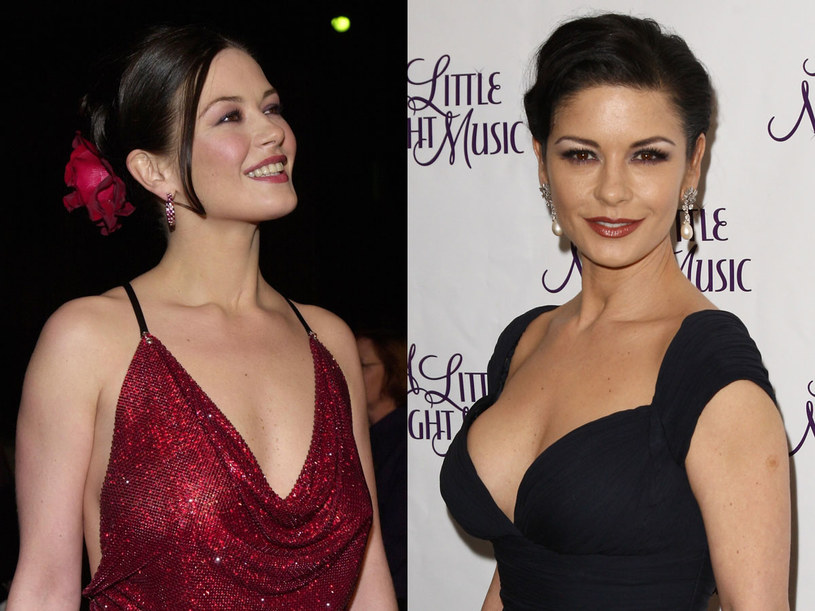Catherina Zeta-Jones - zdjęcie z 2000 (po lewej) i 2010 roku   /Getty Images/Flash Press Media