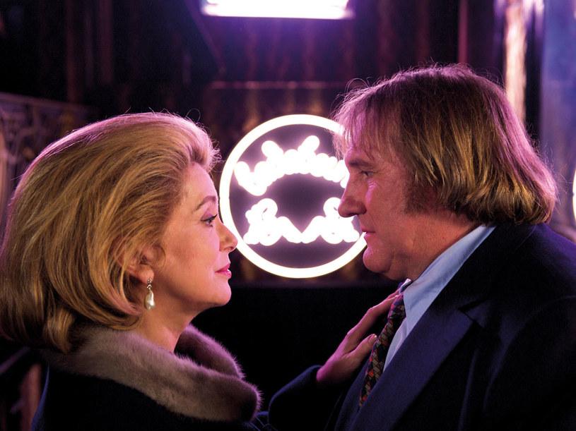 Catherine Deneuve i Gerard Depardieu  /materiały prasowe