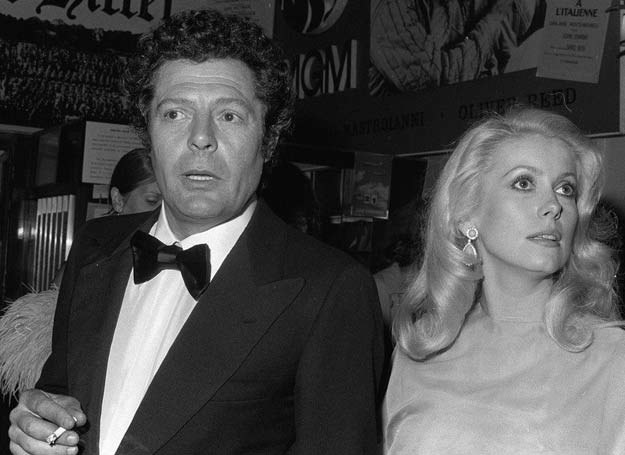 Catherine Deneuve i Marcello Mastroianni /East News