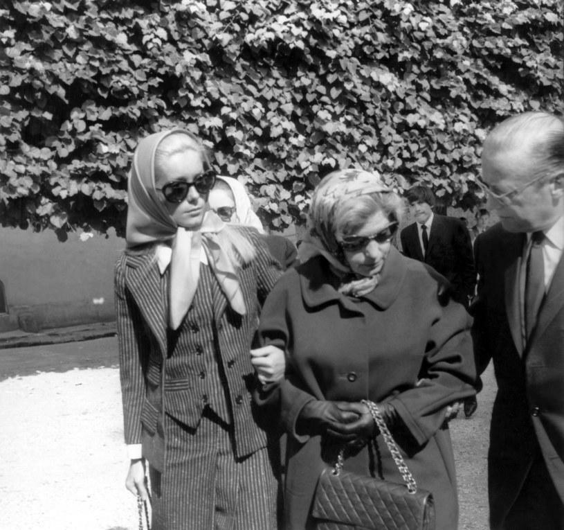 Catherine Deneuve z matką w 1967 roku /AGIP / Rue des Archives /Agencja FORUM