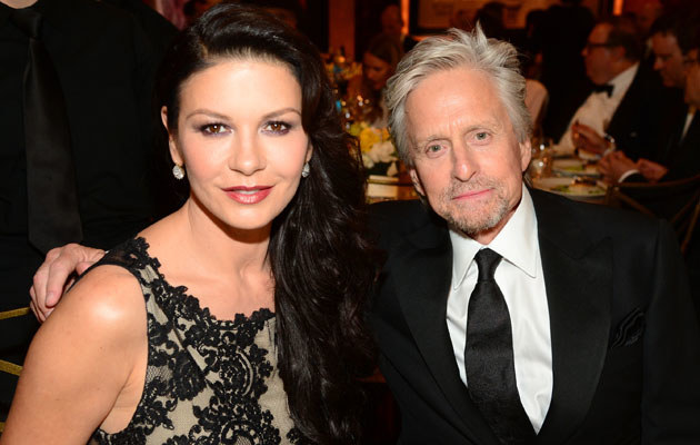 Catherine Zeta-Jones i Michael Douglas mają za sobą trudny czas /Frazer Harrison /Getty Images
