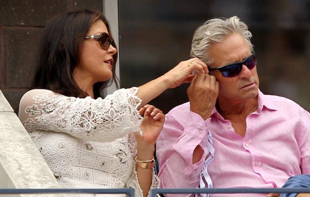 Catherine Zeta-Jones i Michael Douglas znów są bliscy rozwodu! /Al Bello /Getty Images
