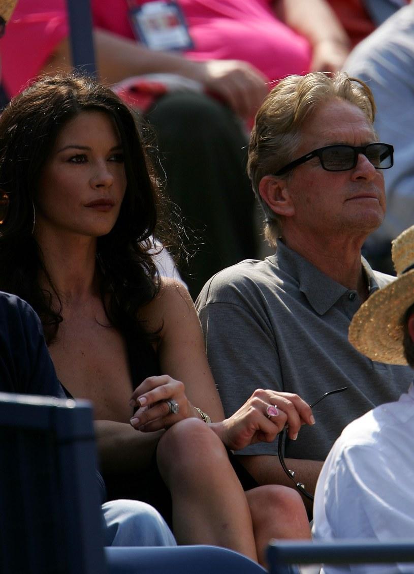 Catherine Zeta-Jones i Michael Douglas /Chris McGarth /Getty Images
