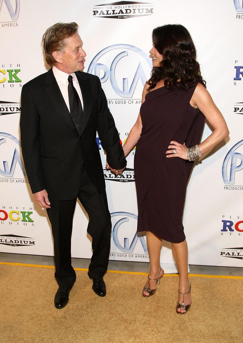 Catherine Zeta-Jones i Michael Douglas /Alberto E. Rodriguez /Getty Images