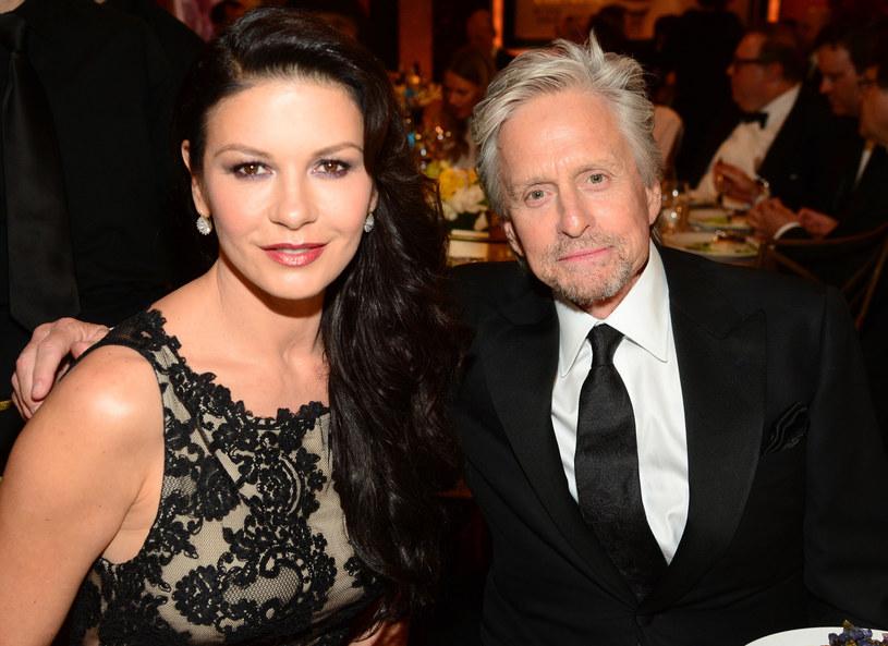 Catherine Zeta Jones i Michael Douglas /Getty Images