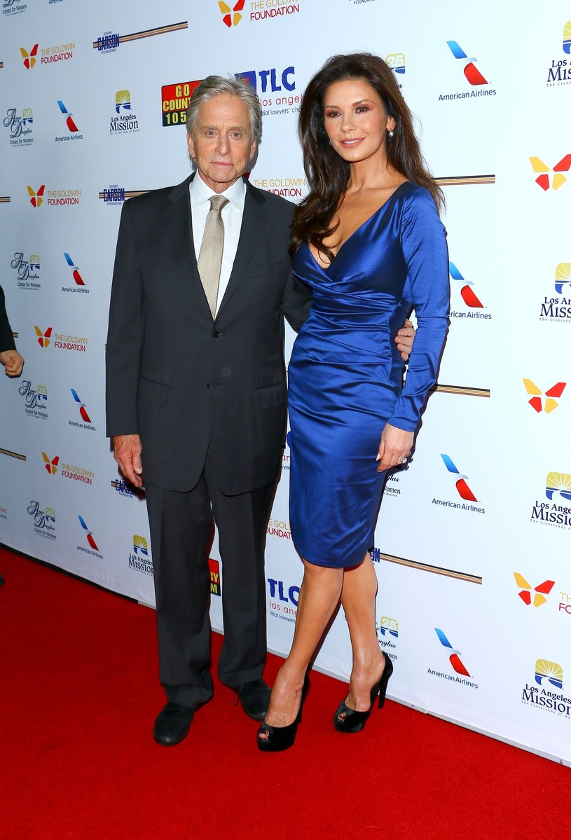 Catherine Zeta-Jones i Michael Douglas /East News