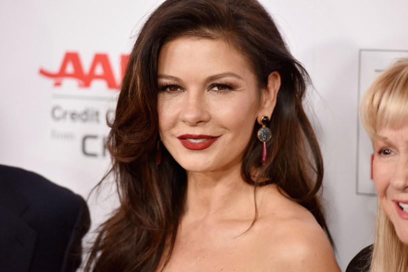 Catherine Zeta-Jones  ma syna i córkę (20-letniego Dylana i 17-letnią Carys) /Getty Images