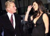 Catherine Zeta-Jones z mężem Michaelem Douglasem /INTERIA.PL